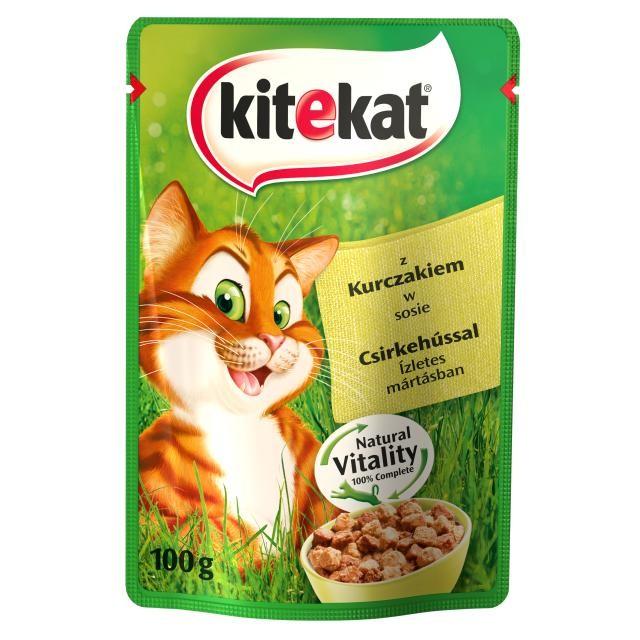KiteKat w sosie 100g x 12