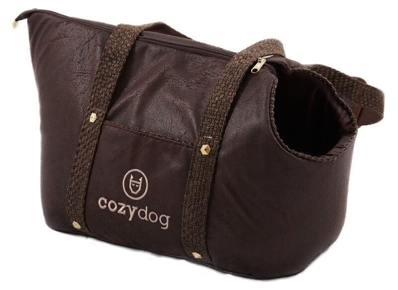 Transportery, sprzęt podróżny - Cozy Dog Torba transportowa chocolate 30 x 40 x 24cm