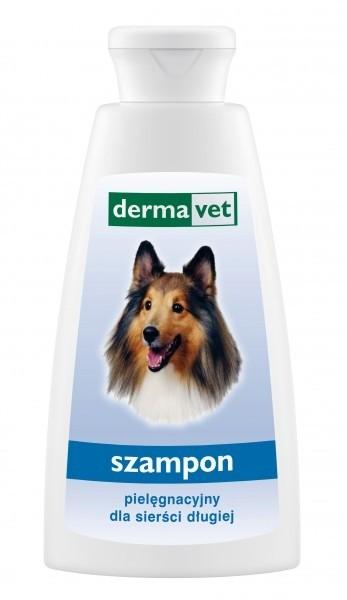 Higiena, pielęgnacja sierści - Derma Vet Szampon pielęgnacyjny dla psów o długiej sierści 150ml