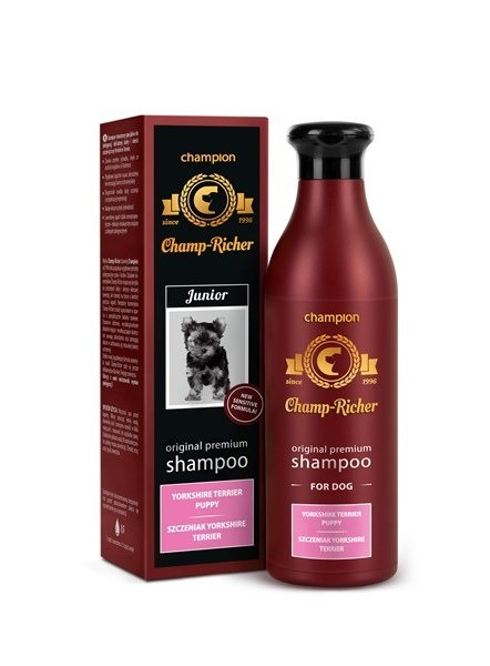 Higiena, pielęgnacja sierści - Champ-Richer Szampon dla szczeniąt rasy York 250ml