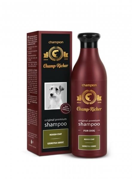 Higiena, pielęgnacja sierści - Champ-Richer Szampon dla psów o szorstkiej sierści 250ml