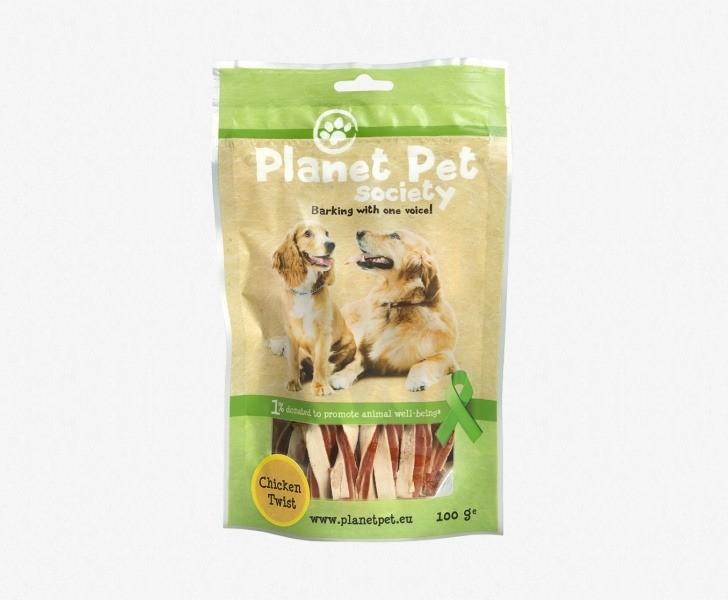 Przysmaki dla psa - Planet Pet Przysmak naturalny z kurczakiem i dorszem 100g