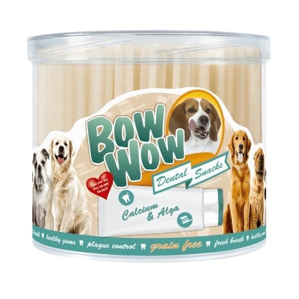 Przysmaki dla psa - Bow Wow Grain free dental ze spiruliną 90szt.