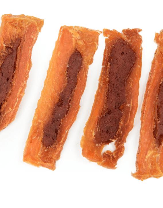 Przysmaki dla psa - ALDA filet z kurczaka z kaczką 500g