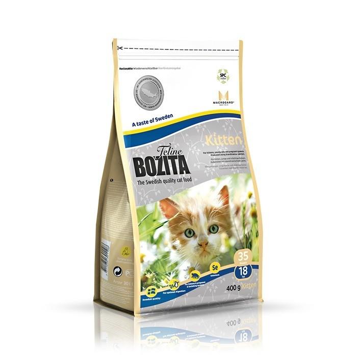 Karmy suche dla kota - Bozita Feline Kitten