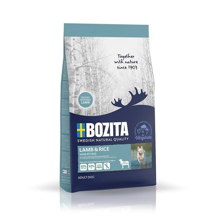 Karmy suche dla psa - Bozita Lamb & Rice Wheat free