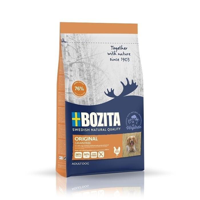 Karmy suche dla psa - Bozita Original Grain free