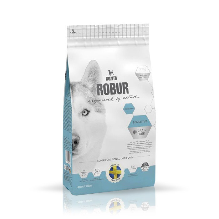 Karmy suche dla psa - Bozita Robur Grain Free Reindeer