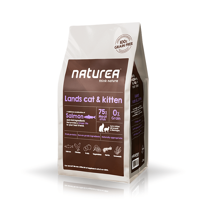 Karmy suche dla kota - Naturea Lands Cat & Kitten