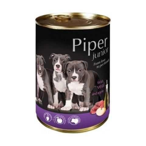 Karmy mokre dla psa - Piper Junior 400g x 12
