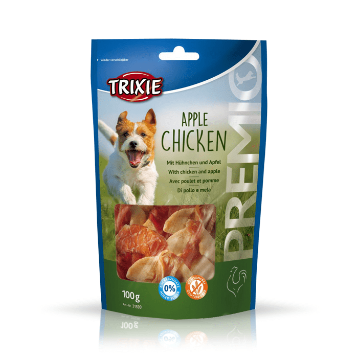 Przysmaki dla psa - Trixie Premio jabłko z kurczakiem 100g