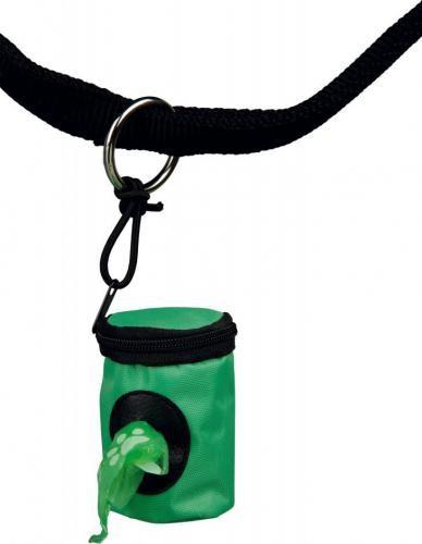 Produkty higieniczne - Trixie Pojemnik na woreczki na odchody + woreczki na odchody 2x20szt.