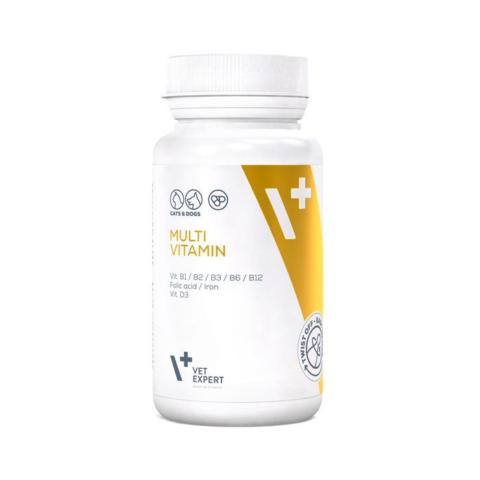 Suplementy - VetExpert Multivitamin 30 kapsułek