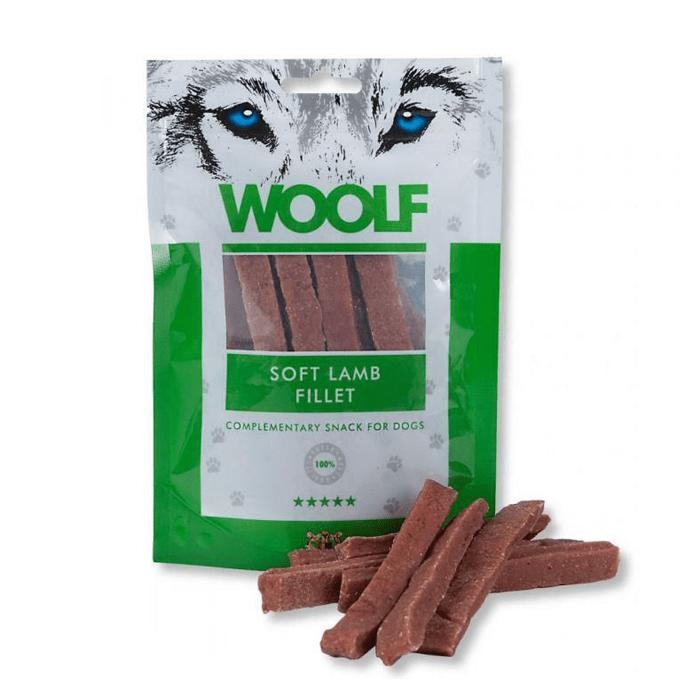 Przysmaki dla psa - Woolf Przysmak Soft Lamb Fillet 100g