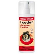 Sabunol Ixoder Spray odstraszający kleszcze i komary dla psa i kota 100ml