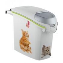 Curver Pet Life Pojemnik na kocią karmę lub żwirek 6kg