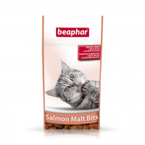 Beaphar Salmon Bits + Malt pasta łososiowa 35g
