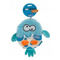 Coockoo Huggl piszcząca zabawka aport niebieska 24 x 18cm