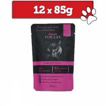 Fitmin Cat For Life Pouch Kitten 85g x 12