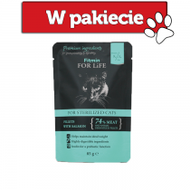 Fitmin Cat For Life Pouch Sterilized 85g