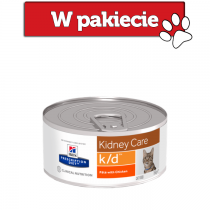 Hill's Prescription Diet Feline k/d Kidney Care z kurczakiem 156g