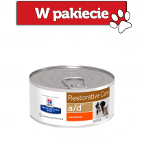 Hill's Prescription Diet Feline/Canine a/d Restorative Care z kurczakiem 156g