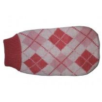 Doggy Fashion Golf różowy ze wzorem 25cm