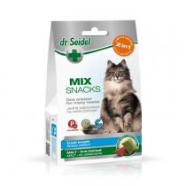 Dr Seidel Smakołyki dla kotów 2w1 świeży oddech i odkłaczanie 50g