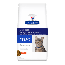 Hill's Prescription Diet Feline m/d Diabetes/Weight Management z kurczakiem