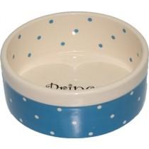 Yarro Miska Ceramiczna Prince 13 x 5,5cm niebieska