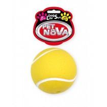 Pet Nova Piłka tenisowa Tenis Ball z gumy [rozmiar S] 7cm