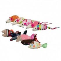 Trixie Myszka/rybka pluszowa 9-12cm