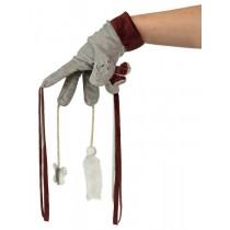 Trixie Rękawica z zabawkami brąz 30cm