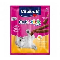 Vitakraft Cat Stick Mini Drób i Wątroba 6g 3szt.